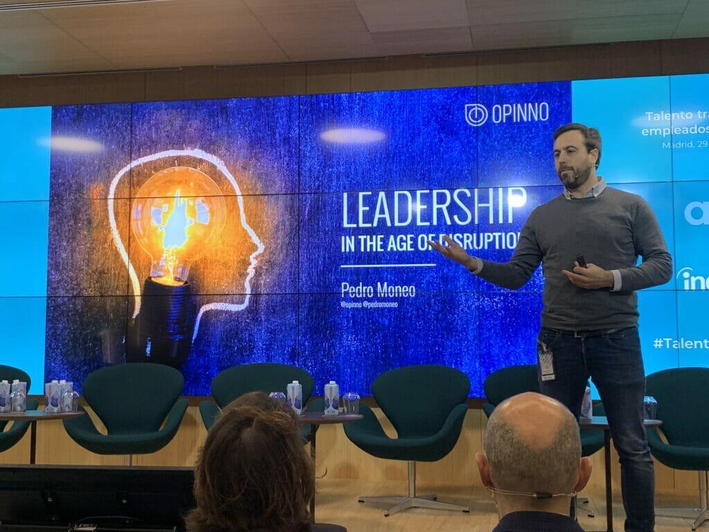 El CEO según Pedro Moneo, Opinno