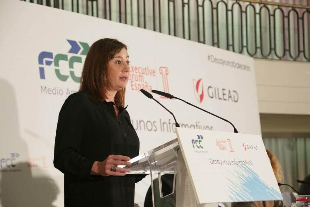 Francina Armengol, presidenta de Islas Baleares.
