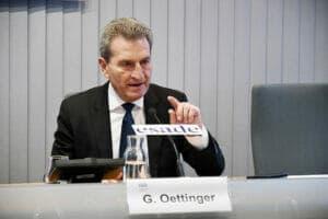 Günther H. Oettinger en Esade