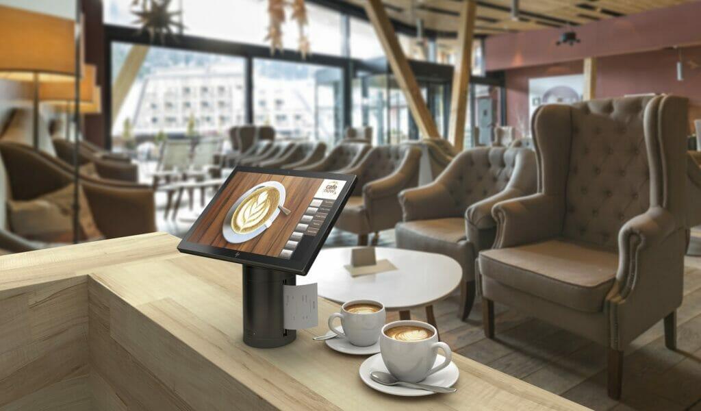 Tecnología de HP para el hotel del futuro.
