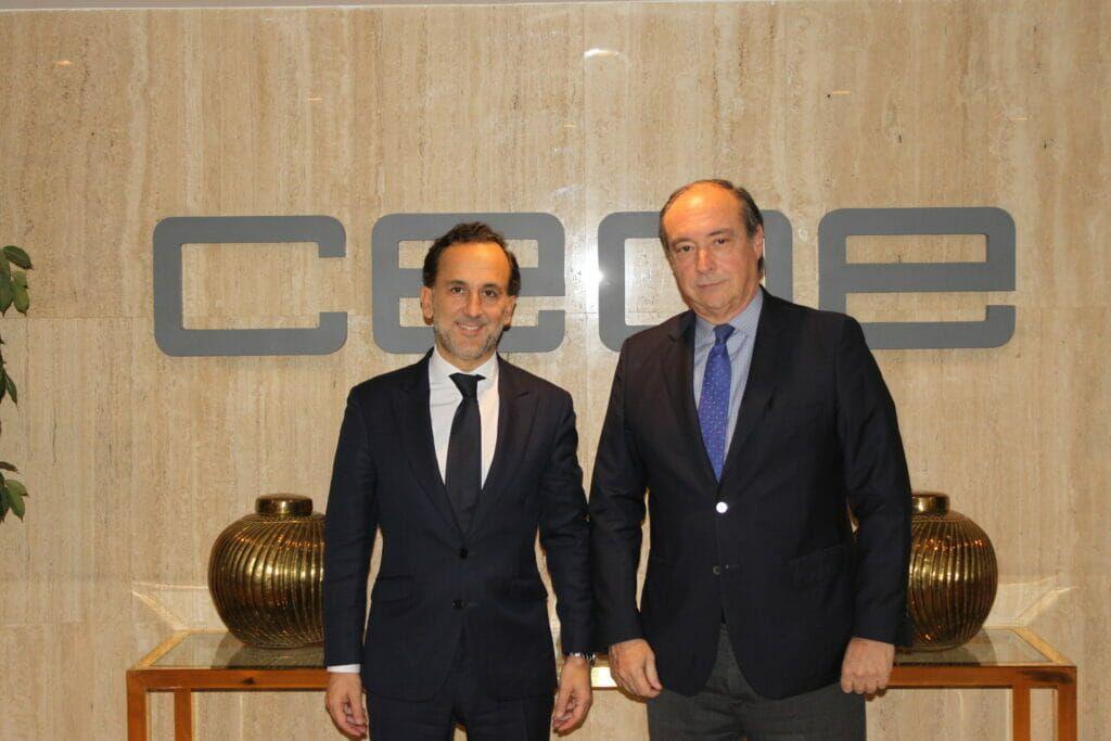La Fundación CEOE y el Club de Excelencia en Sostenibilidad firman un convenio de colaboración para impulsar los ODS en las empresas