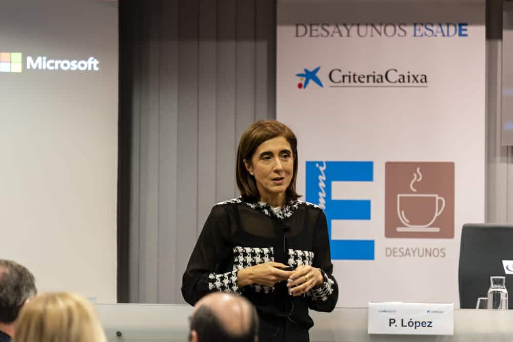 La presidenta de Microsoft en España alerta sobre el peligro de los ciberataques.