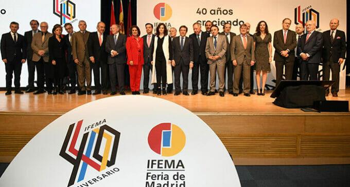 """Los protagonistas de la """"Crónica de cuatro décadas de IFEMA"""""""