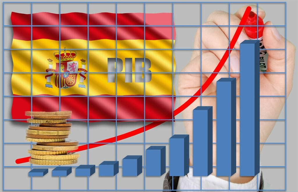 Crecimiento de la deuda pública española.