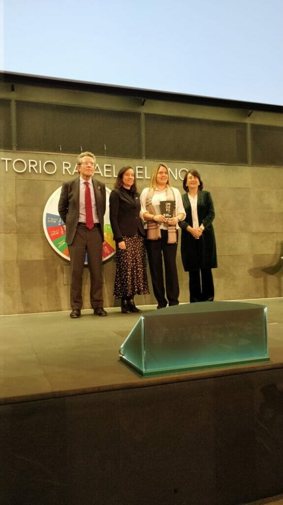 Aigues de Barcelona recibe el premio GoODS