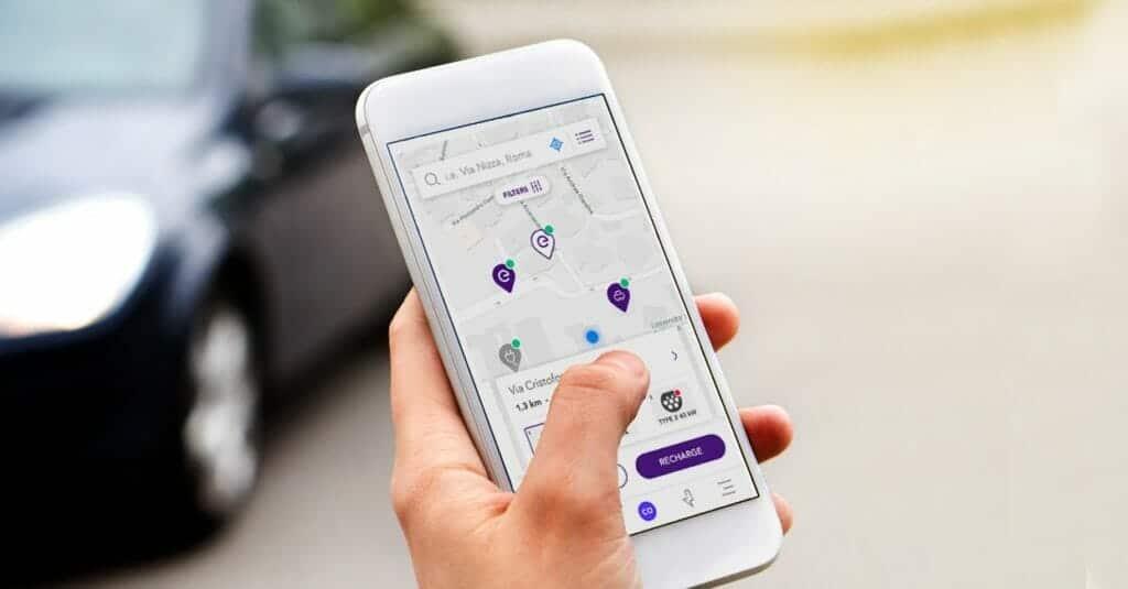 app juice pass para recargar el vehículo eléctrico