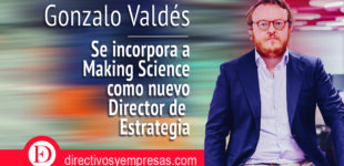 Gonzalo Valdés se incorpora a Making Science como nuevo Director de Estrategia