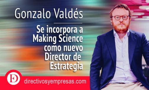 Gonzalo Valdés se incorpora a Making Science como nuevo Director de Estrategia