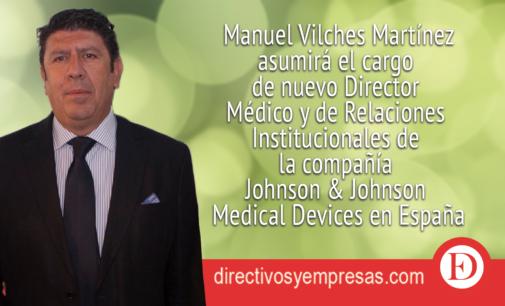 Johnson & Johnson Medical Devices nombra Director Médico y de Relaciones Institucionales al Dr. Manuel Vilches