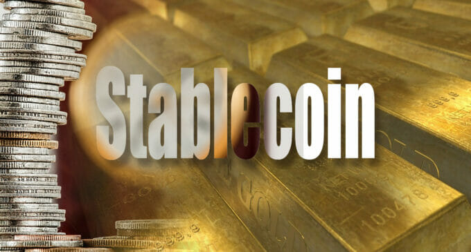 Stablecoins respaldadas por oro: Tether, Coin Shares…