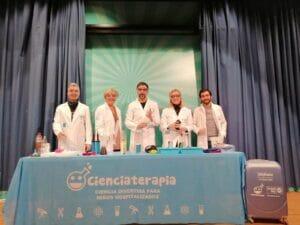 cienciaterapia para niños hospitalizados