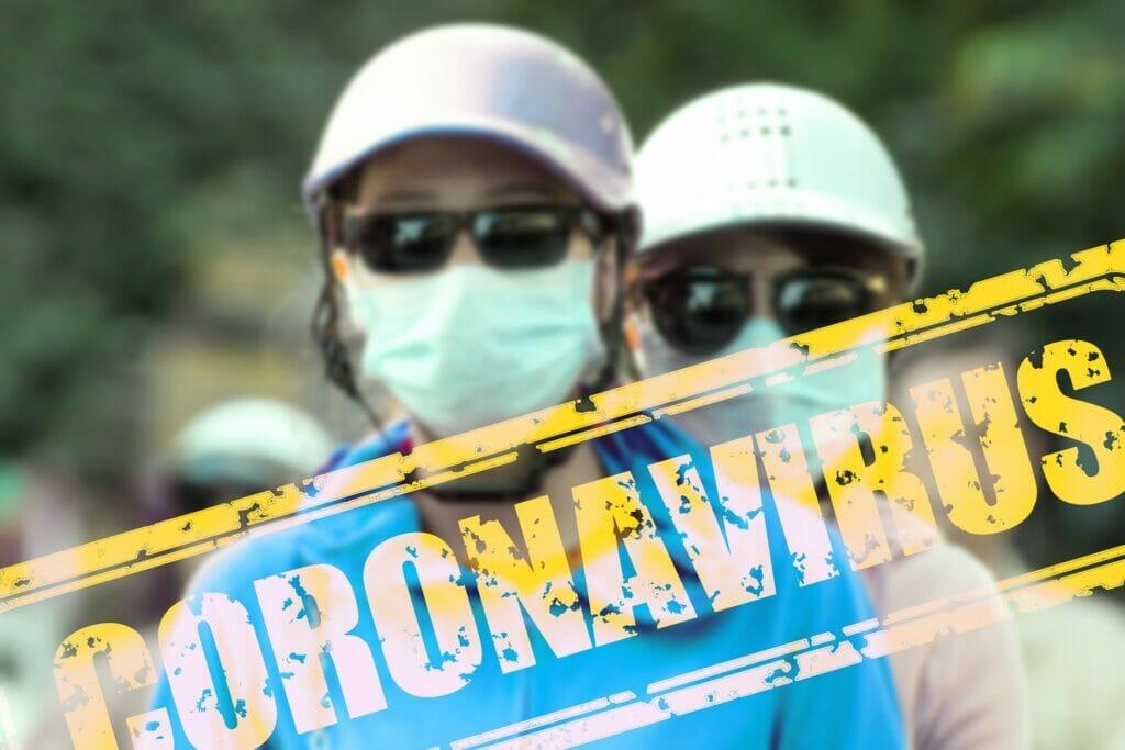 máscaras para protegerse del coronavirus.