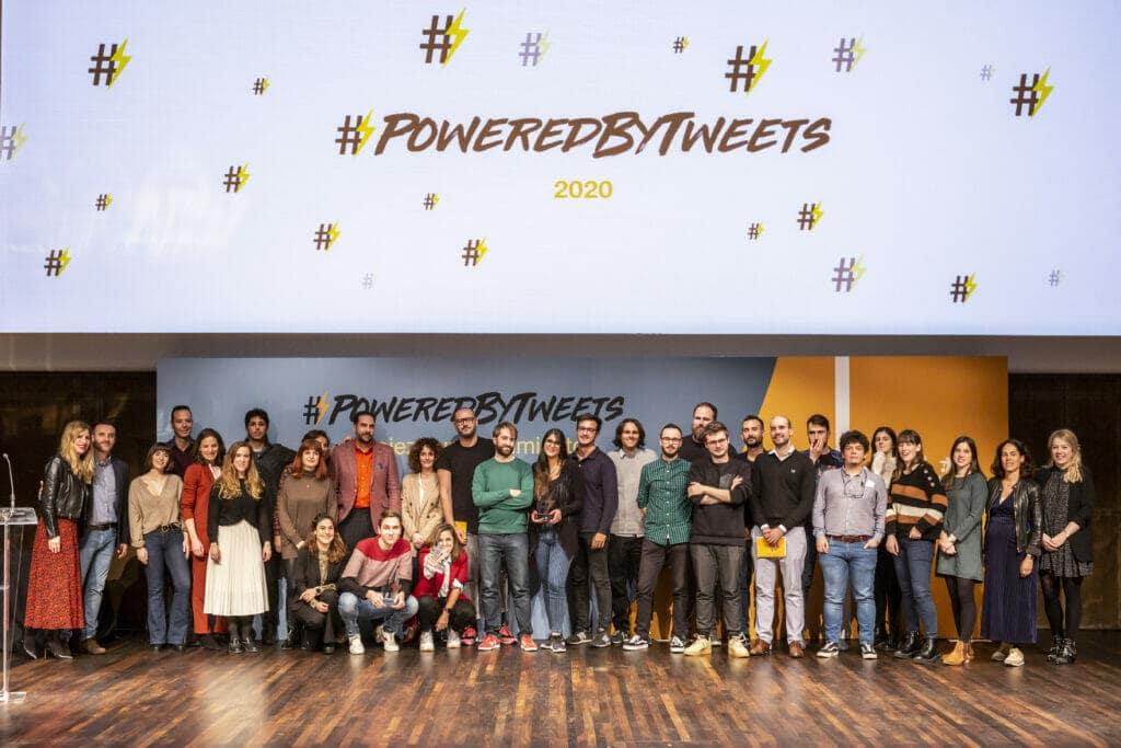 cuarta edición de #PoweredByTweets.