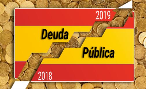 La deuda pública creció en 2019 a un ritmo de 43 millones diarios