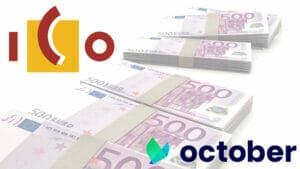 el ico invierte 15 millones en October