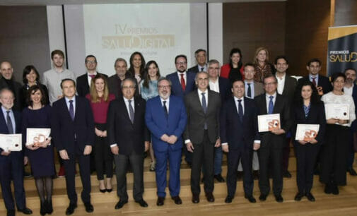Mediforum entrega los Premios SaluDigital 2020 ante la presencia de Ruiz Escudero