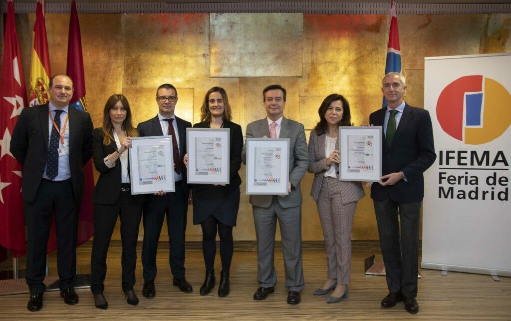 5 nuevas certificaciones para IFEMA.