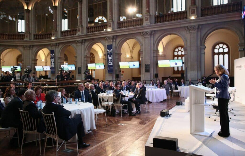 II Observatorio del #Ahorro y la Inversión en España de BESTINVER fue presentado por Nadia Calviño