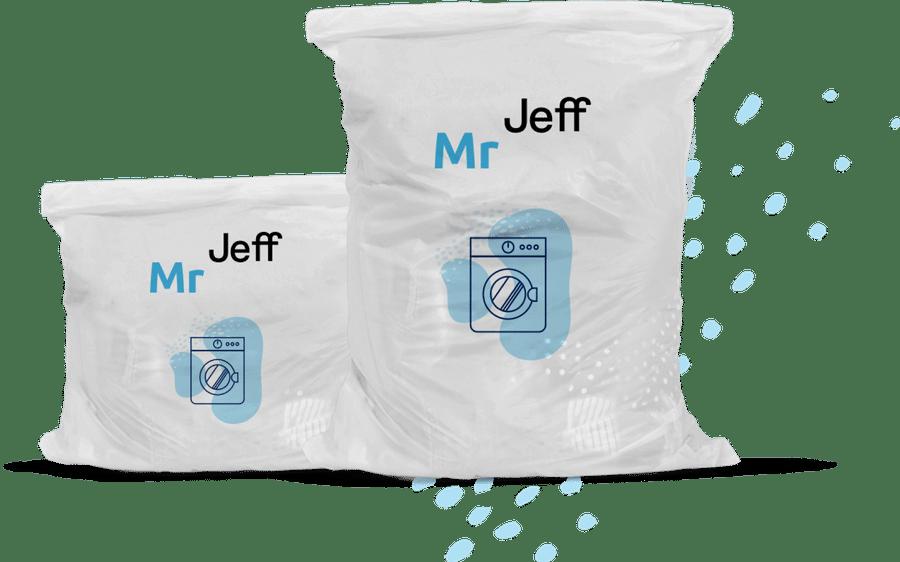 Mr Jeff startup lavanderias