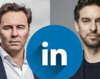 Pau Gasol y Dimas Gimeno, influencers oficiales de LinkedIn
