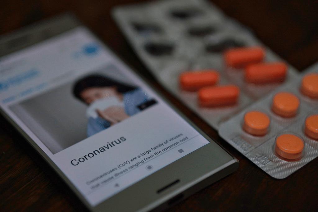 ERTE por coronavirus.