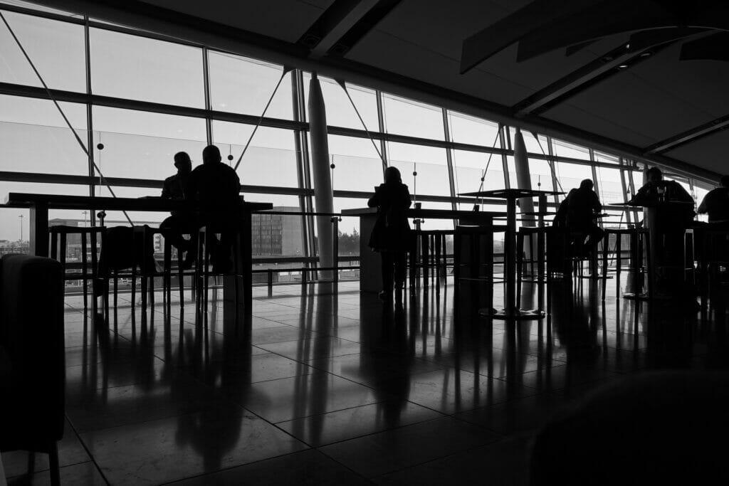 aeropuerto viajes de negocios