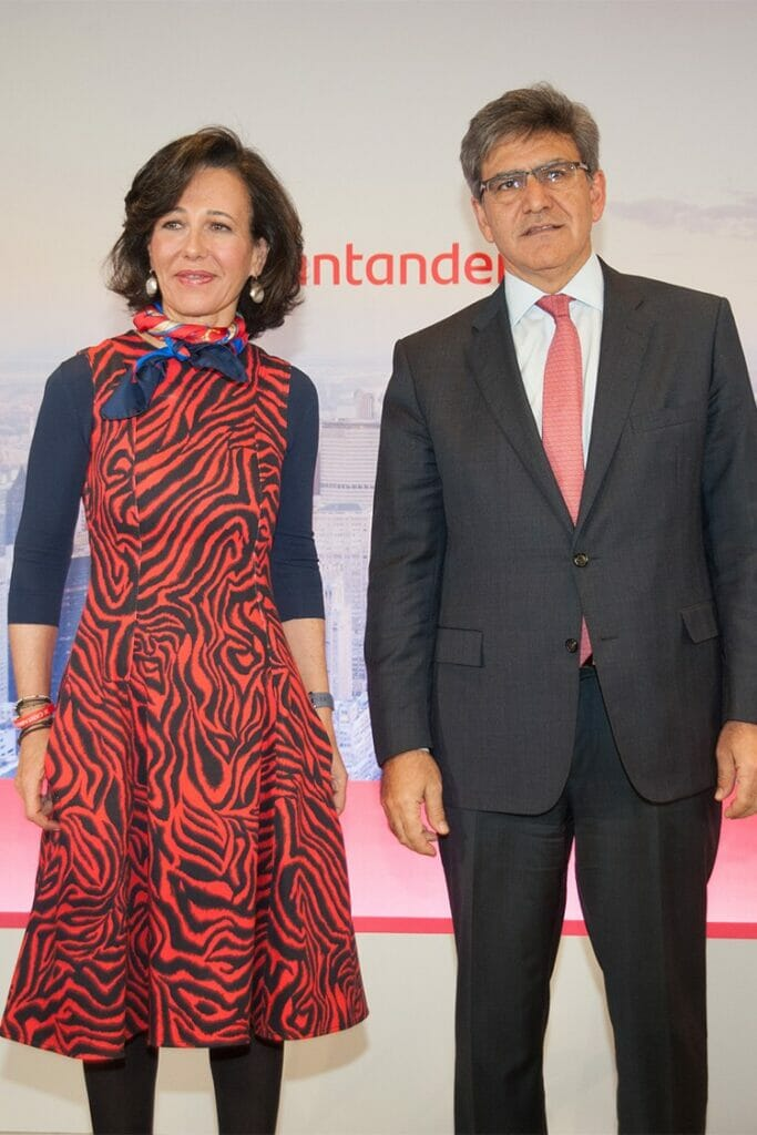 Ana Botin y José Antonio Álvarez Banco Santander