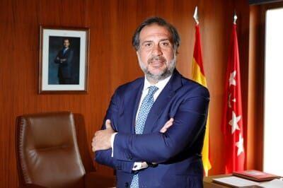 Angel Asensio Presidente de Camara de Madrid