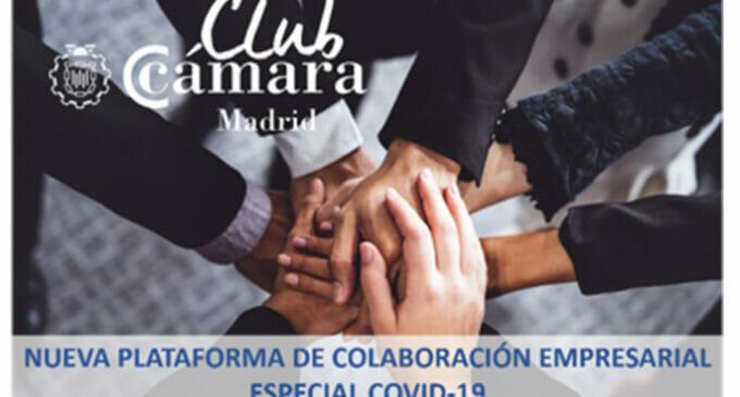 La Cámara de Madrid habilita una plataforma para ayudar a las empresas