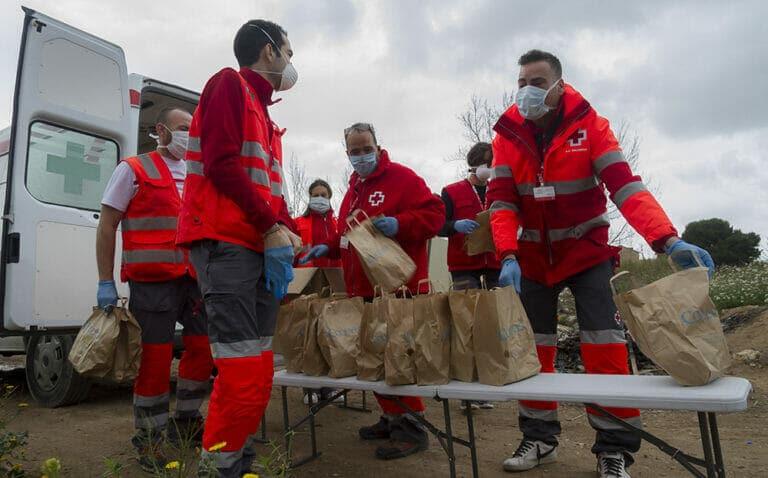 Plan Cruz Roja RESPONDE para hacer frente al coronavirus
