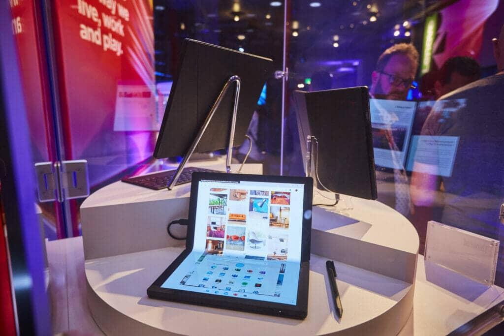 Dispositivos Lenovo expuestos en el CES 2020