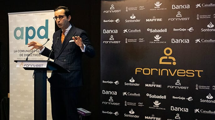 Eduardo Barrachina en Forinvest 2020