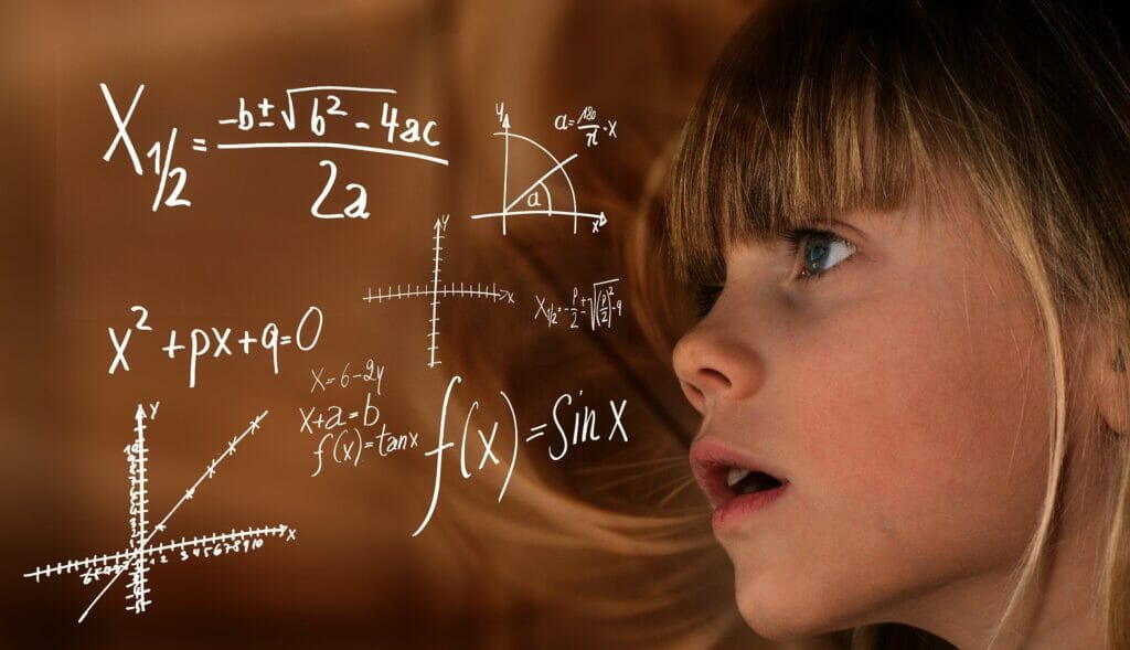 niñas en estudios STEM