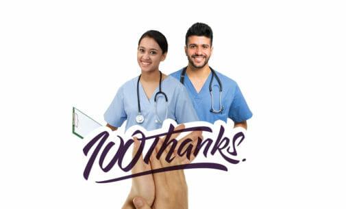 Aplauso virtual: pegatinas y stickers para agradecer la labor de sanitarios