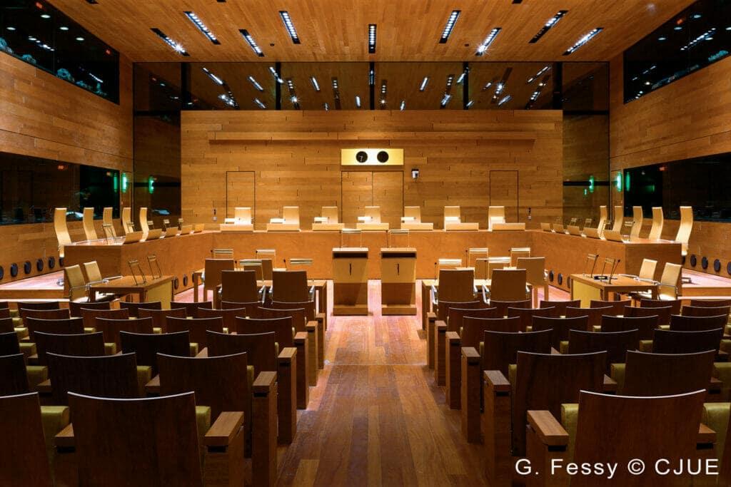 tribunal de Justicia de la Unión Europea TJUE.