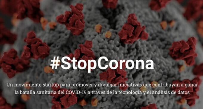#StopCorona: las startups se unen para luchar contra el Covid-19