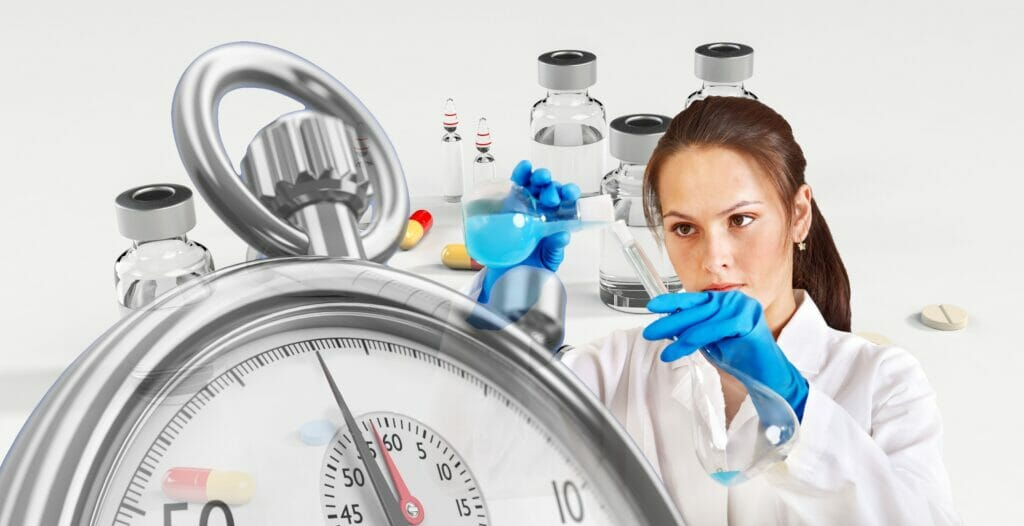 Se busca vacuna para el COVID-19.