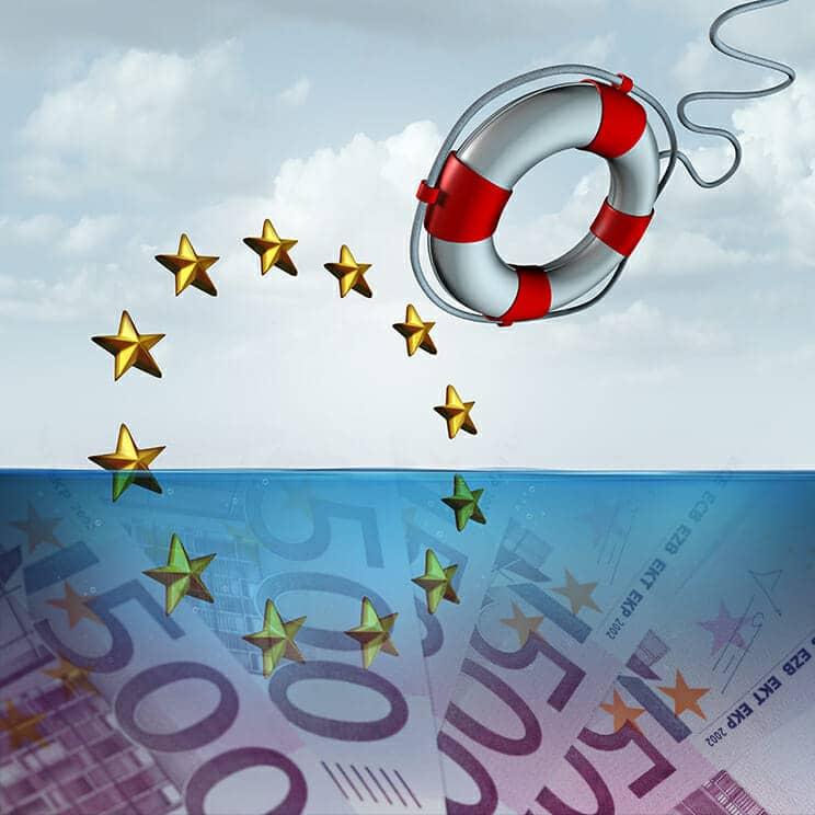 Europa como salvavidas de la crisis del coronavirus.