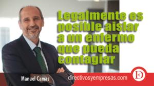Manuel Camas - presidente de Roca Junyent-Gaona y Rozados Abogados