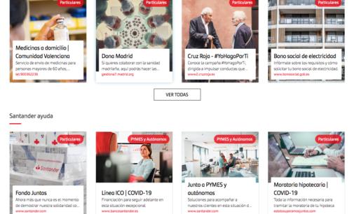 """""""Esto lo superamos juntos"""", lo último de Santander para ayudar a los hogares"""