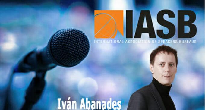 Iván Abanades, Co-Chair de la patronal mundial de agencias de speakers