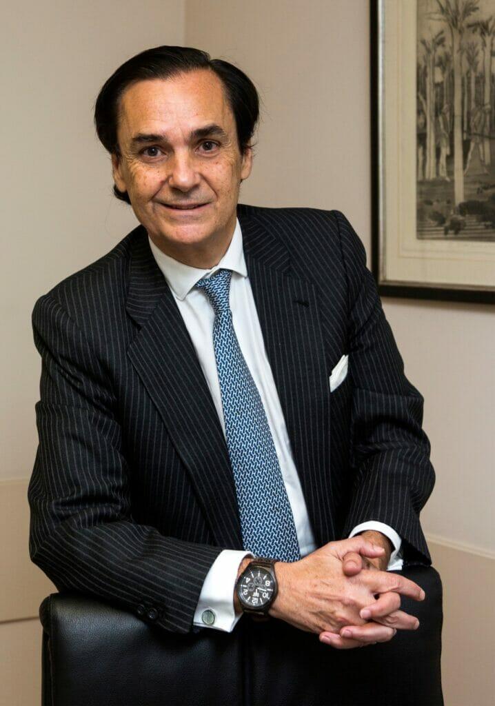 José Coronel de Palma y Martinez-Agulló, presidente de la AELR