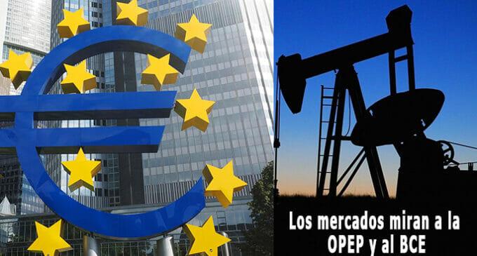 EE.UU., petróleo y BCE: tres claves para la agenda de los mercados en esta semana