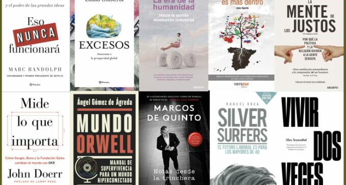 Los 10 libros de empresa que optan al Premio Know Square 2019