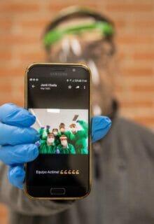 CoronavirusMakers entrega 350.000 pantallas al personal sanitario