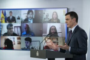 pedro sanchez anuncia medidas económicas para las crisis del coronavirus