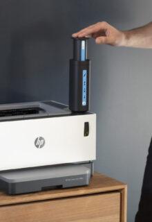 La primera impresora láser con tóner recargable