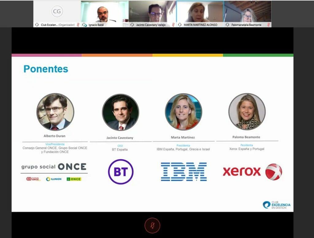 webinar CEOS CLub Excelencia en Gestión