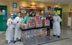 Donación CLH a Urgencias Hospital Aljarafe Sevilla