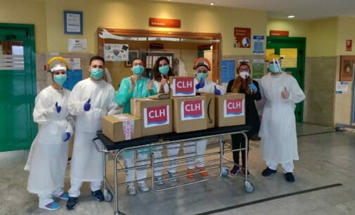 CLH también se compromete con donaciones a centros sanitarios